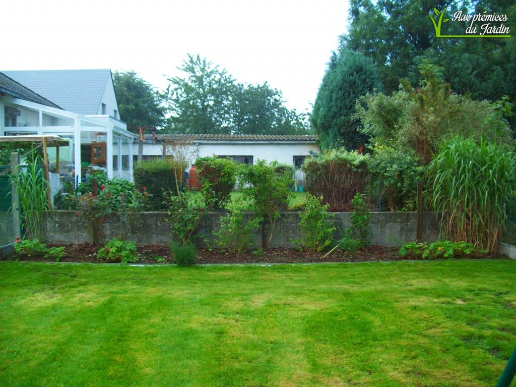 Jardin après tonte et entretien réalisé par nos soins. Septembre 2015