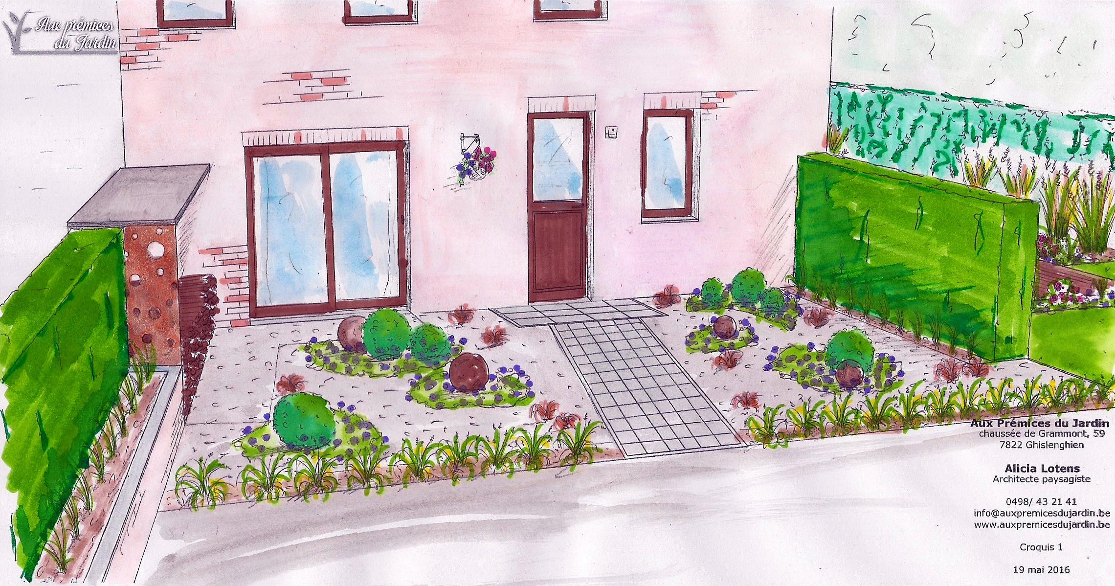 Aux pr mices du jardin jardin de ville petit jardin for Conception jardin